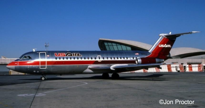 BAC-111 N1114J JFK 11:14:84