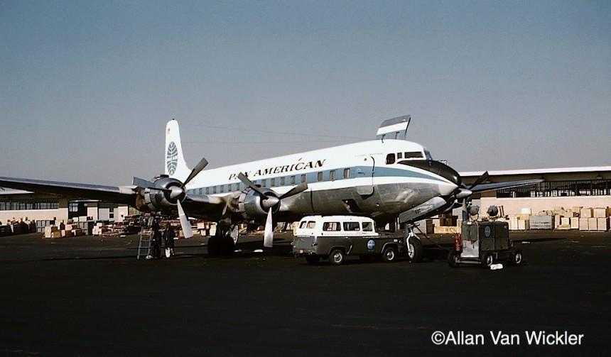 DC-6A N6259C IDL 11:59