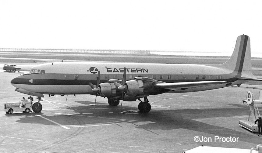 DC-7B N837D IDL Peter Black