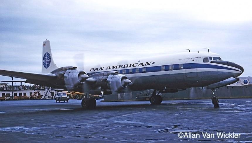 DC-7C N733PA IDL 11:59