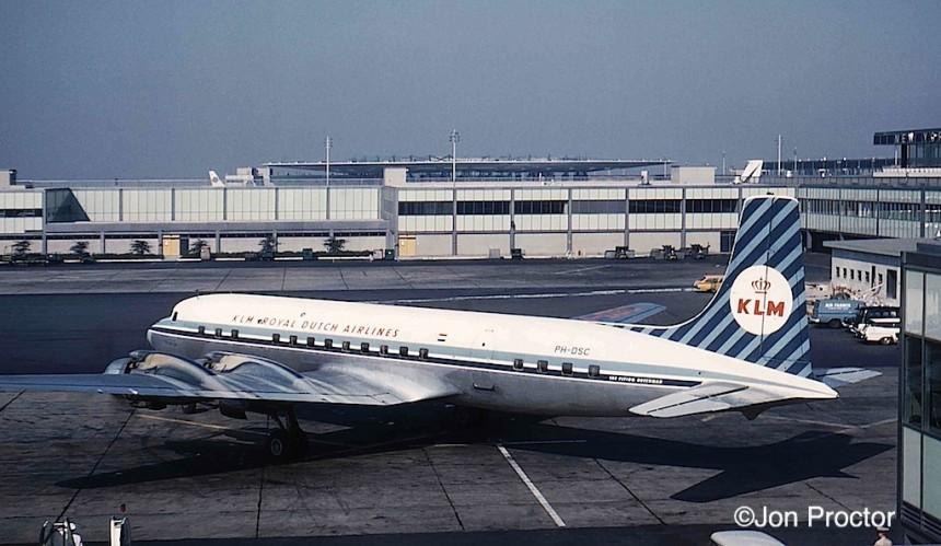 DC-7C PH-DSC KLM IDL 6:61 Bob Proctor