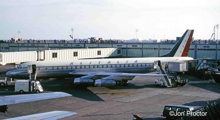 DC-8-43 I-DIWI JFK 6:65