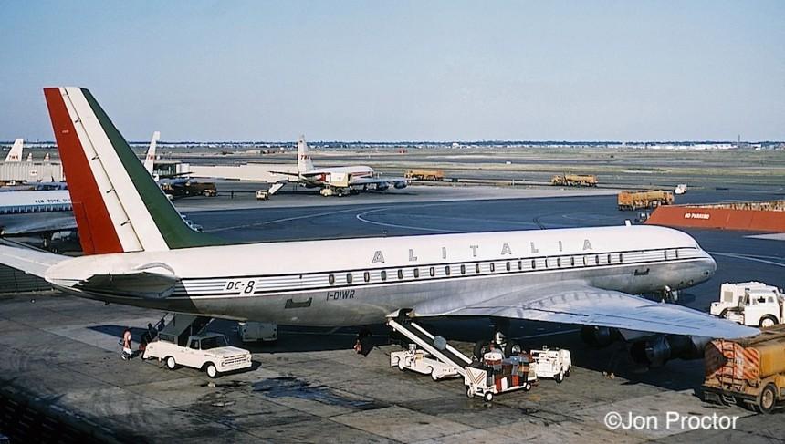 DC-8-43 I-DIWR AZ JFK 6:65