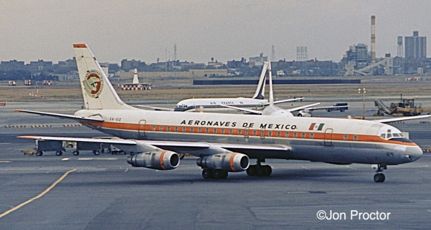 DC-8-51 XA-SID JFK 11:22:71