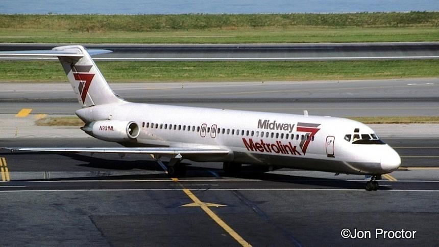 DC-9-31 N931ML LGA 10:15:84