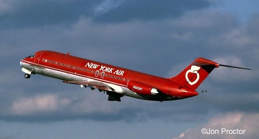 DC-9-32 N523NY LGA 12:1:84