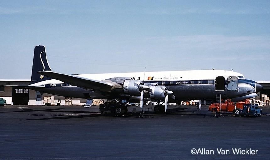 SN DC-7C OO-SFA IDL 11:59