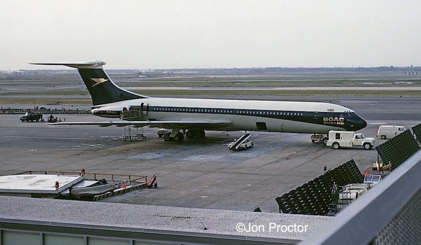 VC10 G-ASGE BOAC Cunard JFK 5:25:65