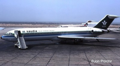 MEA wasn't the only airline leasing airplanes to Saudia. This 727-2H3 was operated by Tunis Air and frequently seen at Cairo.