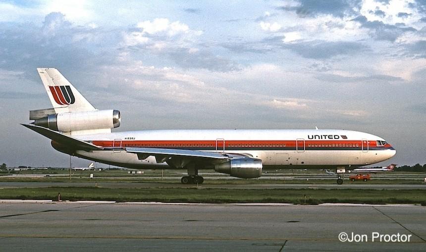 121 DC-10-10 N1838U ORD 8:1:80