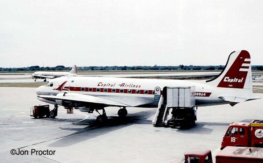 57 DC-4 N88864 ORD 9:9:60