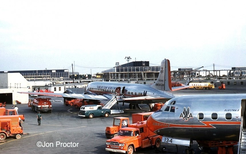 62 DC-7B N334AA:L188N6134A ORD 7:31:61-H