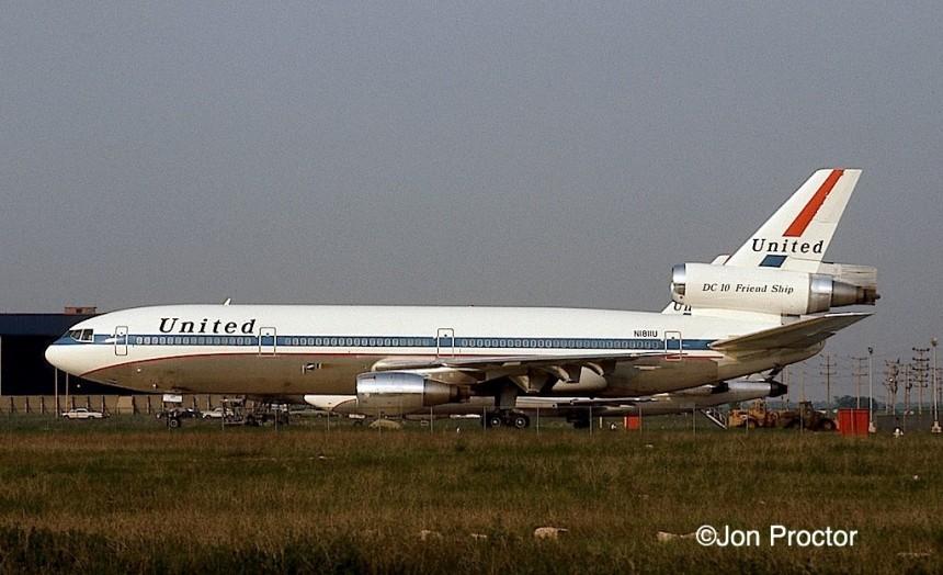 DC-10-10 N1811U ORD 05-27-1972