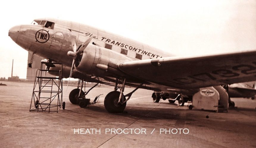 DC-3 NC17321 WH Proctor