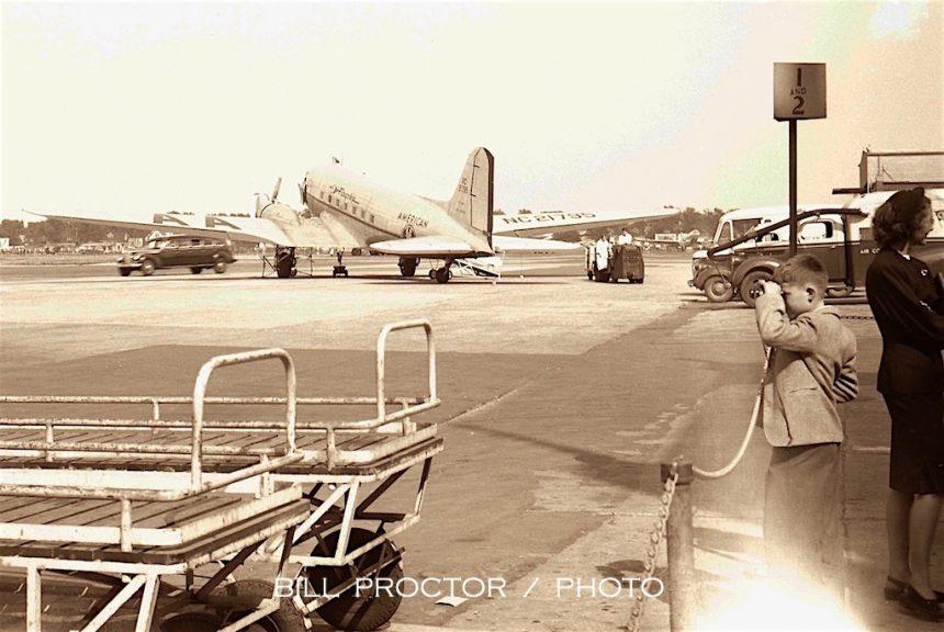 DC-3 NC21795 MDW 1946 Bill Proctor-7078569
