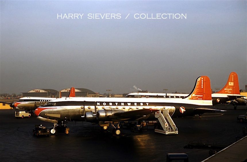 DC-4 N68969 MDW 11:56 Harry Sievers Col via JP