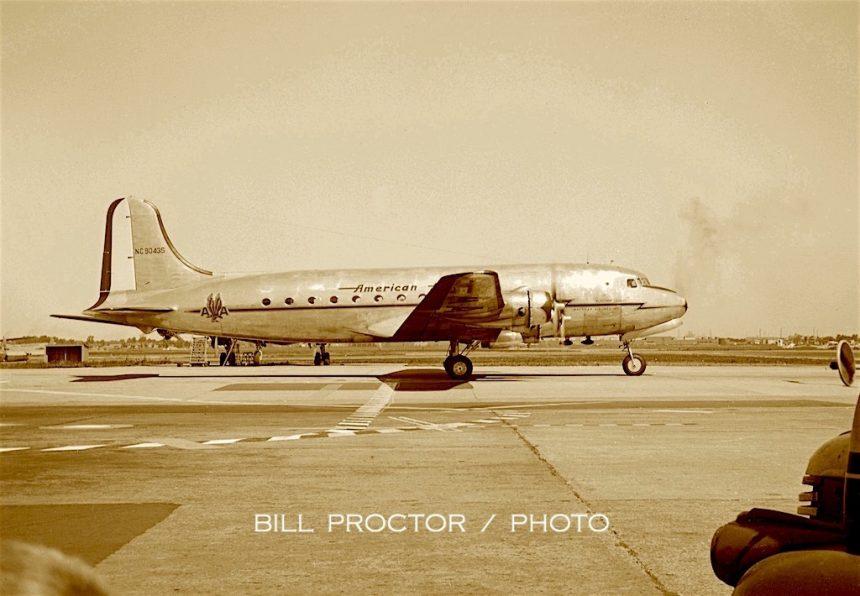 DC-4 NC90435 MDW 1947 Bill Proctor-7356670