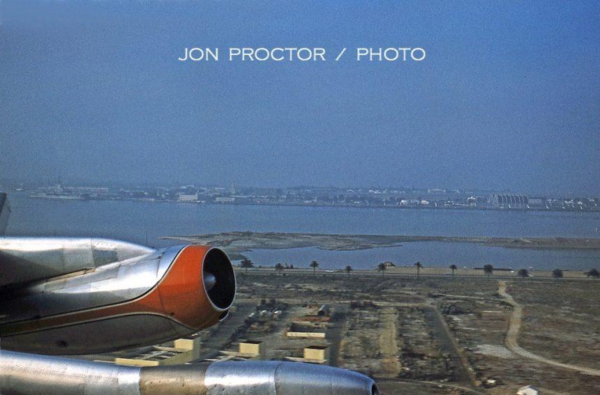 720-023 N7536A takeoff SAN 07-19-61 Bob Proctor leveled