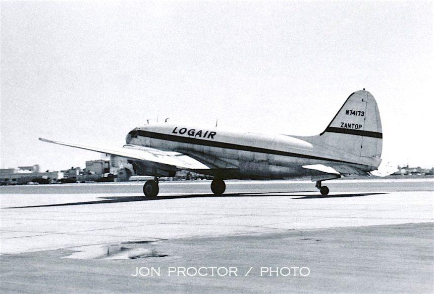 C-46 N74173 Logair-Zantop SAN 3:24:62-7357488