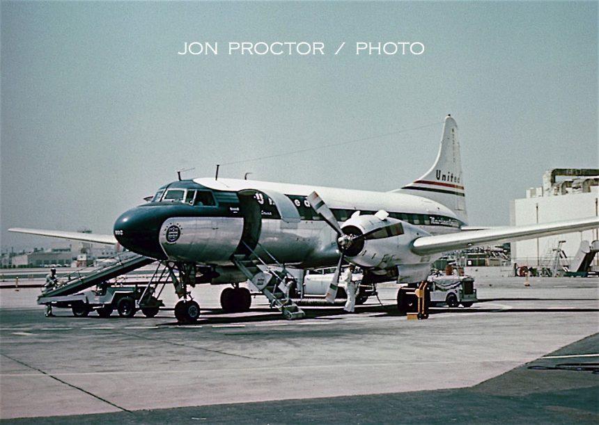 CV-340 N73102 SAN
