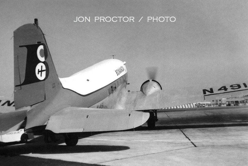 DC-3 N491-2 SAN 6:19:59