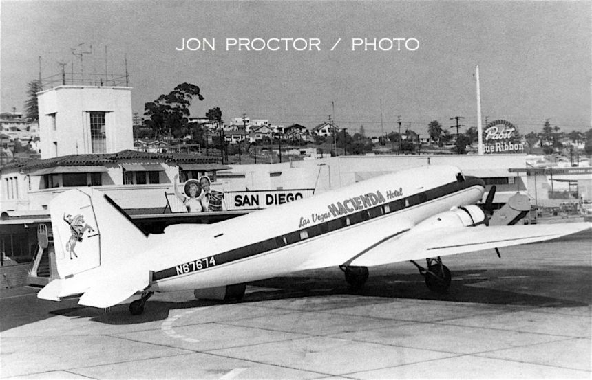 DC-3 N67674 SAN 06-1961