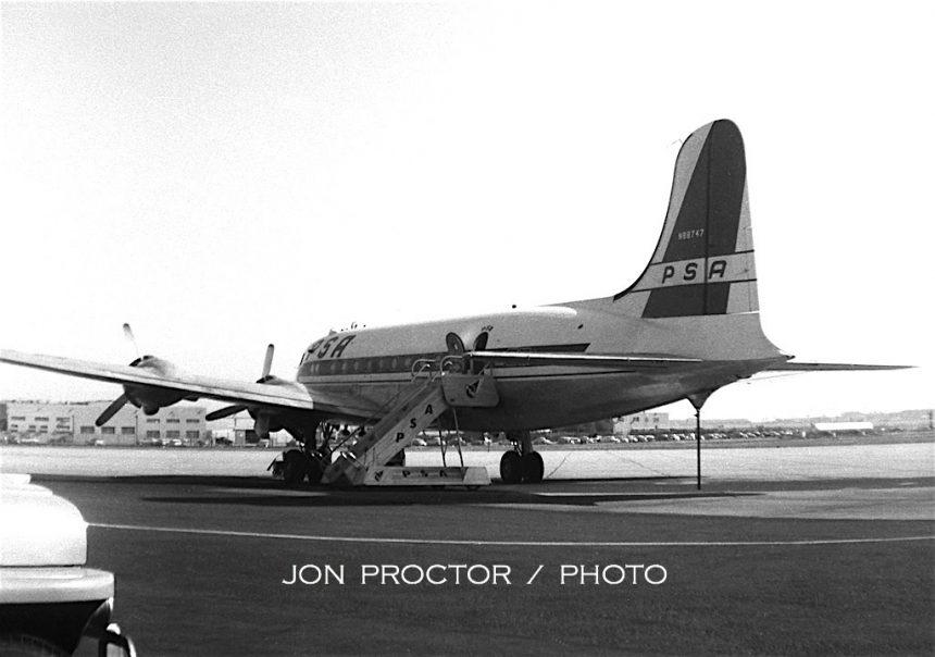 DC-4 N88747 SAN 1958-7080515