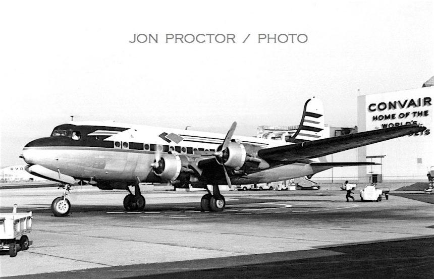DC-4 Super Skycoach SAN 05-30-1961