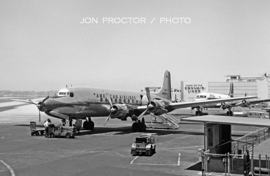 DC-6 N90747 SAN 7:6:59-7675842