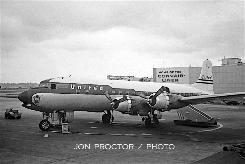 DC-6B N37570 SAN 1958-7385910