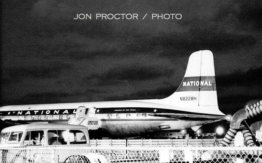 DC-6B N8228H SAN 05-29-1961 WO BOS 11-15-61-sized