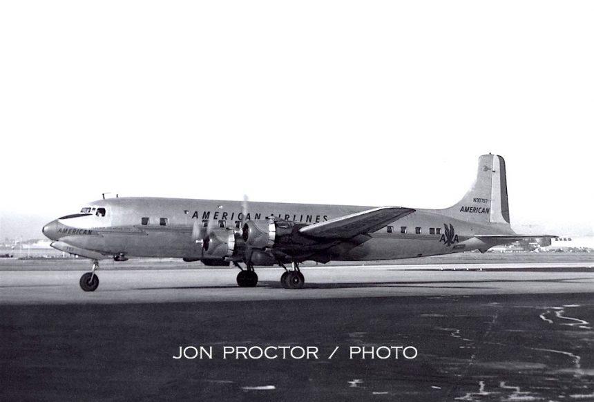 DC-6B N90757 SAN 6:11:60-cleaned