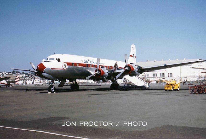 DC-6B N90772 Saturn-1 SAN 8:31:63 5929531