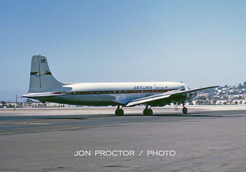 DC-6B N90772 Saturn-3 SAN 8:31:63-6986492