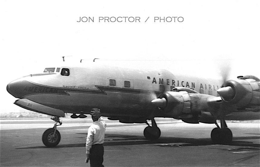 DC-7 N311AA SAN 1958 7357491