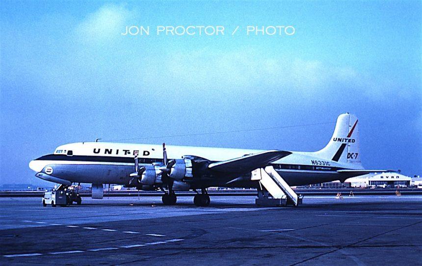 DC-7 N6331C SAN dupe