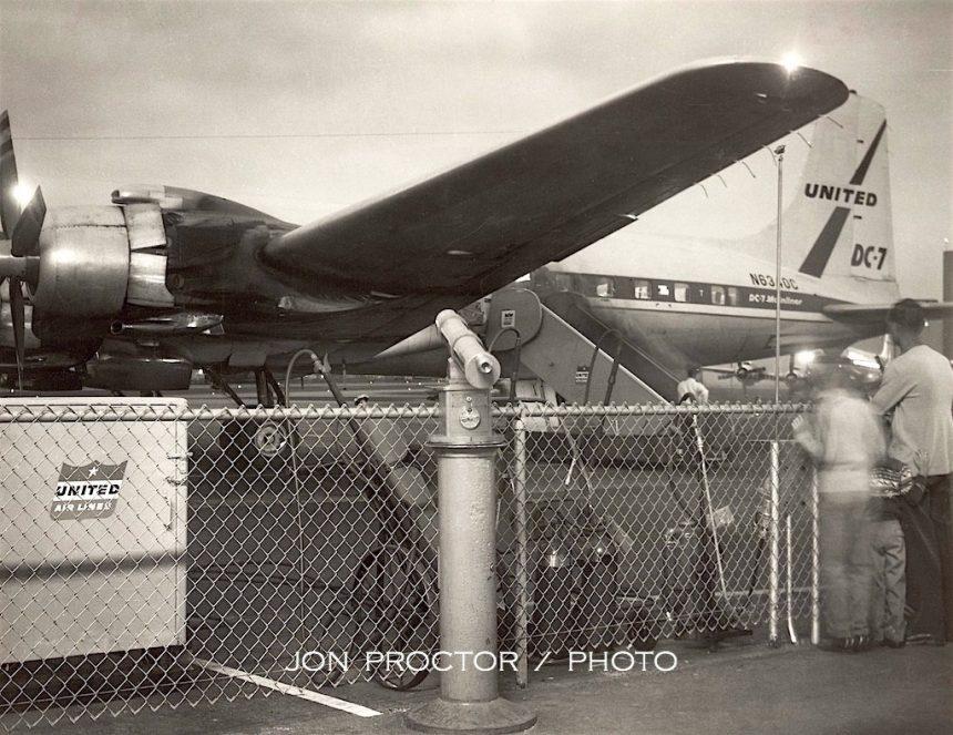 DC-7 N6340C SAN 8:24:59