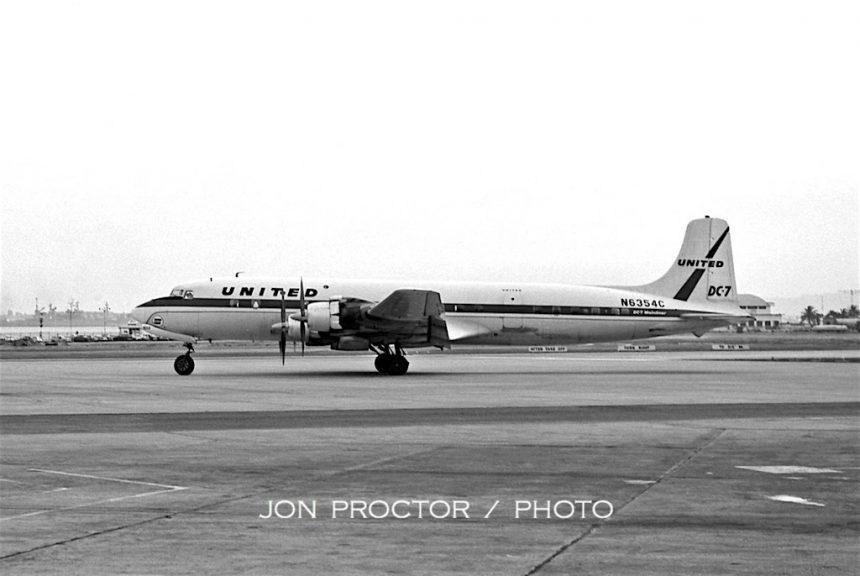 DC-7 N6354C SAN 6:26:62-7100786