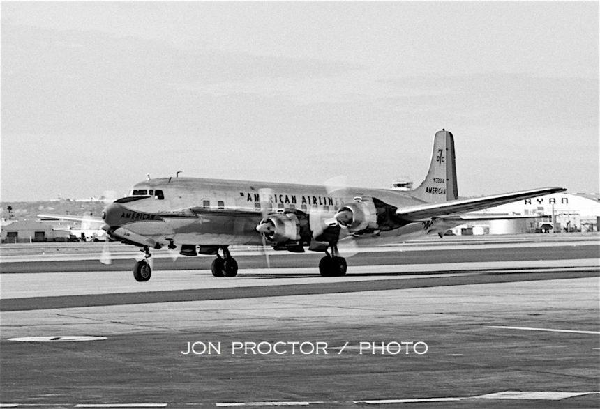 DC-7B N339AA SAN 12:25:62-7356680
