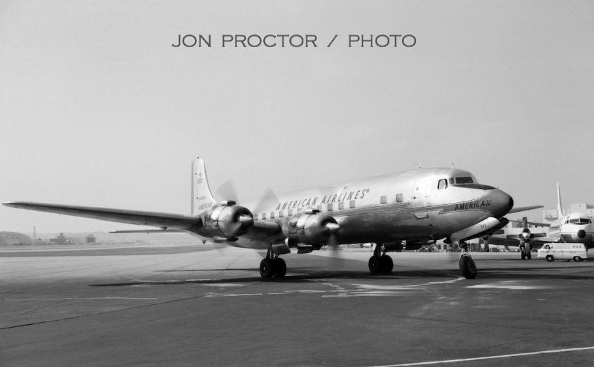 DC-7B N343AA SAN 2:21:63 2