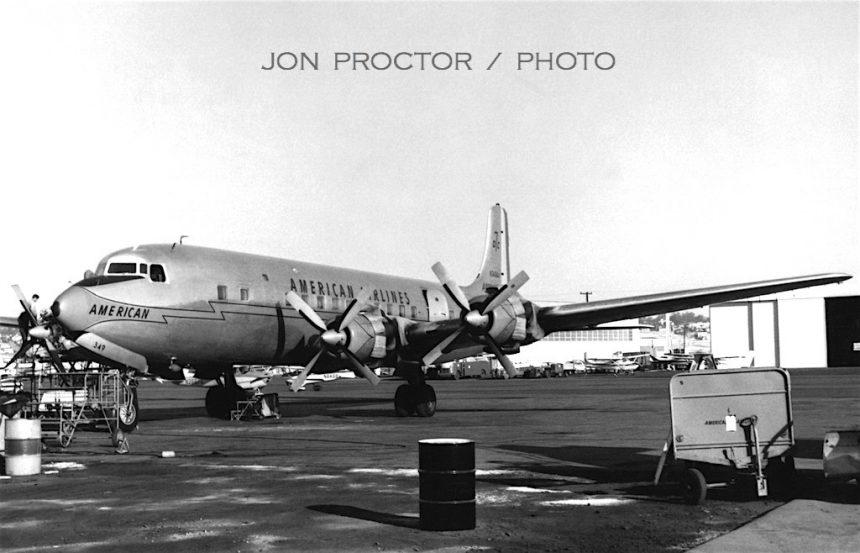 DC-7B N349AA SAN 11-17-1962