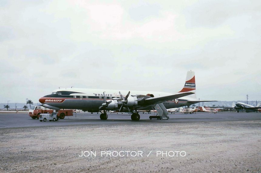 DC-7C N5906 SAN 6:6:63-6986488