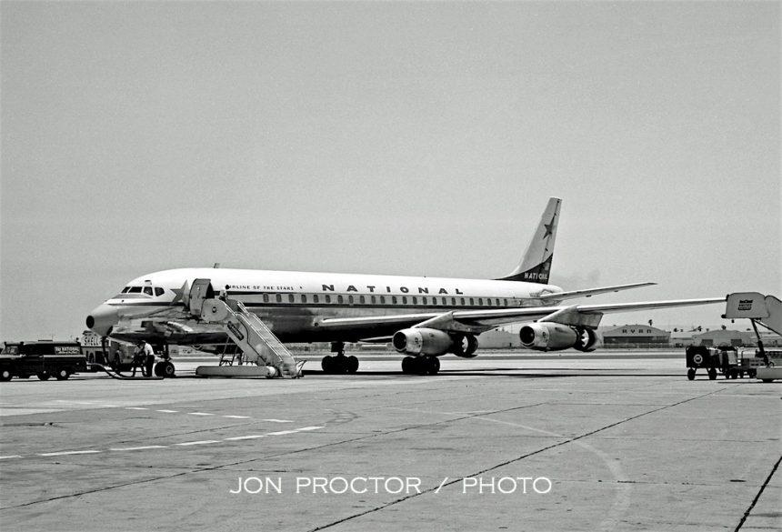 DC-8-21 N6573C SAN 6:30:62-7765771