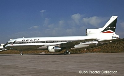 Two TWA L-1011-100s were leased to Delta, including N81028.