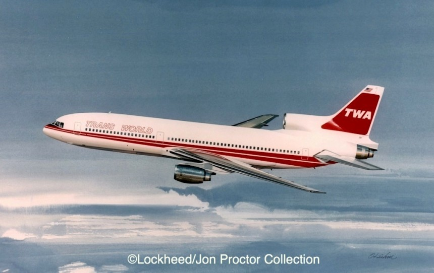Lockheed pitched five 'white tail' L-1011-500s to TWA at the end of TriStar production.