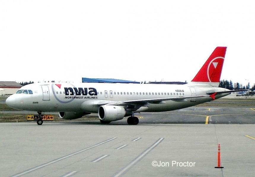 A320 N305US GEG 03-21-2008