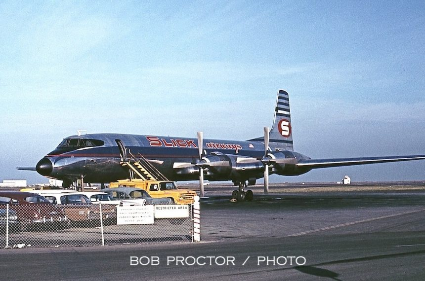 CL-44 Slick SFO 12:63 Bob Proctor 2