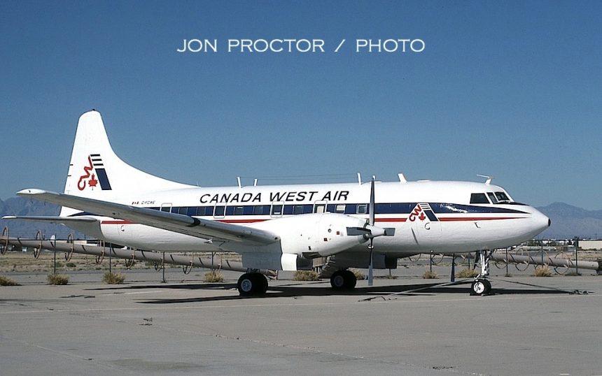 CV-640 C-FCWE TUS 03-23-1990