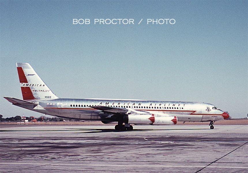 CV-990 N5619 PHX 10:3:62 Bob Proctor 2
