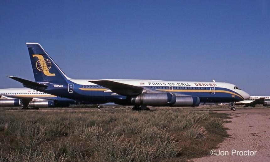 CV-990A N8356C MZJ 03-22-1985